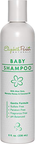 Cradle Cap Baby Shampoo - Hypoallergenic Shampoo with Gentle Formula for Dry & Itchy Scalp Relief - Natural & Organic with Manuka Honey and Coconut Oil - Soothe Eczema Psoriasis & Cradle Cap (8 oz)