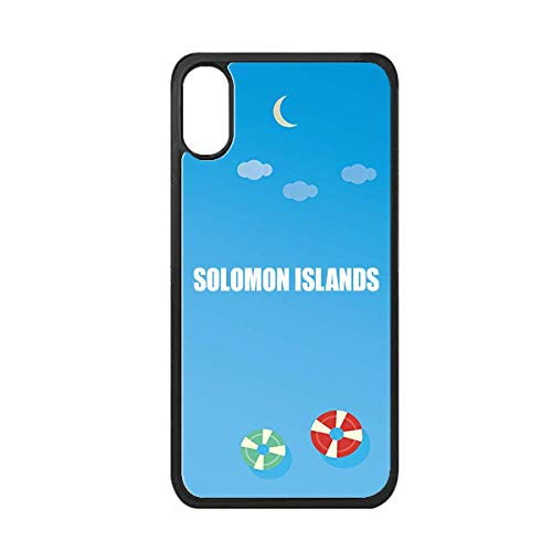 - Solomon Islands Country Name iPhone Xs Max Cover Apple Phone Case Swimming Ring