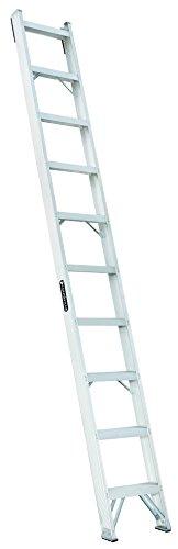 Louisville Ladder AH1012 300-Pound Duty Rating Aluminum Shelf Ladder, 12-Foot (Ladder Rating Aluminum Duty)