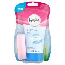 PACK OF 5 - Veet In Shower Cream Sensitive 150ML