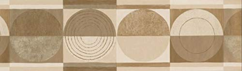 CT78163 Painted Circle Design Wallpaper Border 7