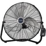 "Lasko H20600 20"" HV Floor Fan BlackSilver, 7X 22 x 22, Black/Silver"