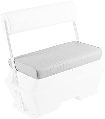 Wise 8WD159-RS Replacement Seat Cushion for Wise 8WD159 Series Swingback  Cooler Seat, White