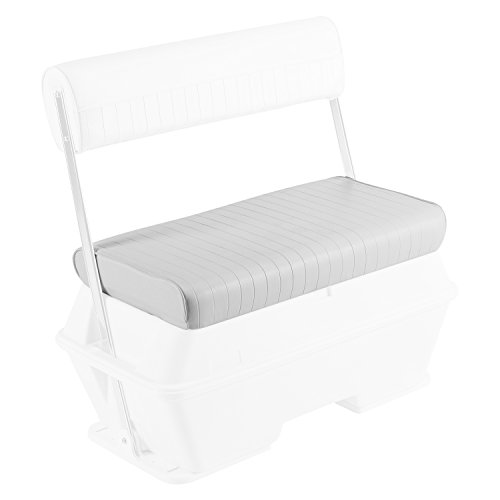 Wise Replacement Seat Cushion for Wise 8WD159-710 50 qt. Swingback Cooler Seat, White