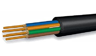 Fiber Optic Cable, 6 Strand, Multimode 62.5/125 Om1, Indoor/outdoor Fiber Riser Rated, 305 Meters