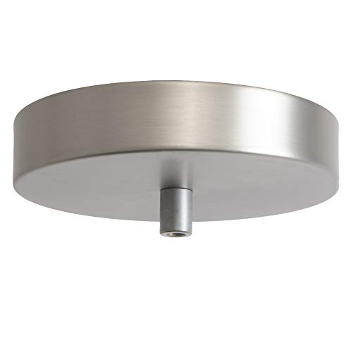 Plated Ceiling Light - Flea Market Rx Pendant Light Ceiling Canopy Kit with Lamp Cord Strain Relief, 5