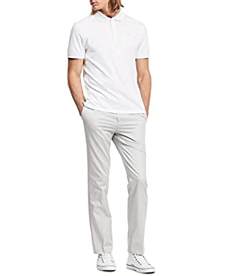 Calvin Klein Men's Slim Fit Refined Twill Pant