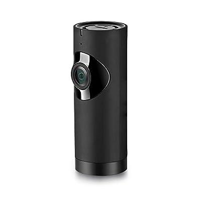 Panoramic Camera HD 720P Mini WIFI Home Security Camera Baby Pet Wireless Security Camera with 180 degree Fisheye Night Vision 2-way Audio P2P Alarm Motion Detection Ip Camera Wireless Camera