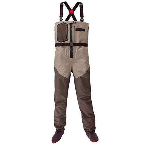 Redington Sonic-Pro HDZ Fly Fishing Waders - X-Large, Clay