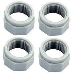 Polaris Replacement Feed Hose Mender Nut 4-Pack - D15 - Feed Hose Nut