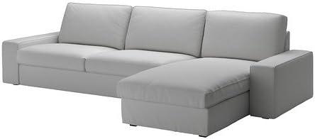 IKEA seccional, 4 asientos a partir, orrsta luz gris 8202.5514 ...