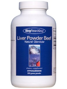 Allergy Research Liver - Allergy Research Group- Liver Powder Beef 200 g