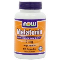 NOW Foods Melatonin 3mg, High Quality, 180 Capsules by NOW Foods