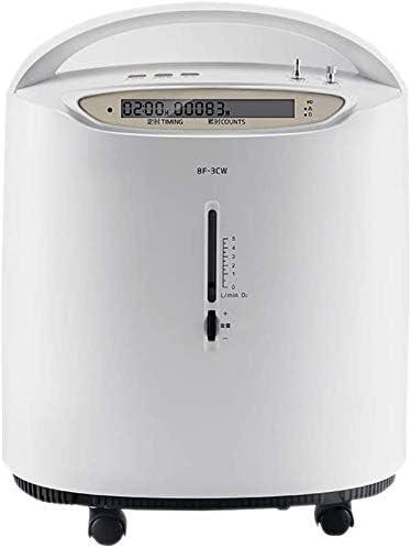 酸素マシン酸素濃縮器、酸素/アトマイザーデュアルパーパスマシン0.5-3.5L /家庭用調整可能、スクロールリモートコントロールポータブル酸素発生器、高齢妊婦酸素吸収装置