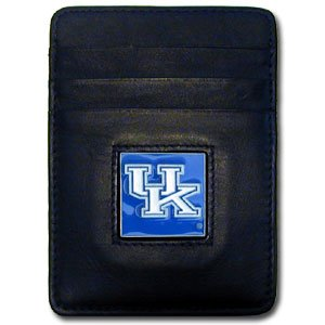 Wildcats College Leather (NCAA Kentucky Wildcats Leather Money Clip/Cardholder)