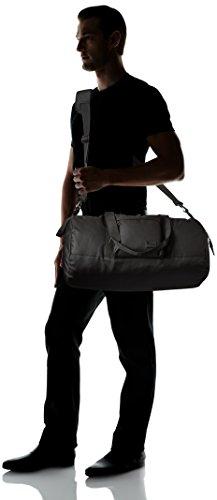 31k4srBRzZL - Steve Madden Men's Solid Nylon Duffle, deep black, One Size