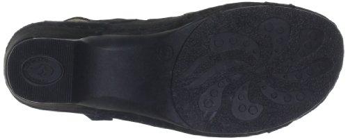 60 Noir Sandales schwarz Compensé Florett À Talon 3571 Femme 0wqPR