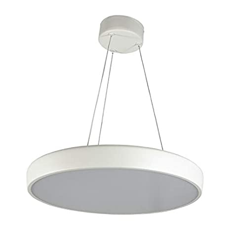 Lampara Colgante Led Techo Nordica Blanca Moderna Salon ...