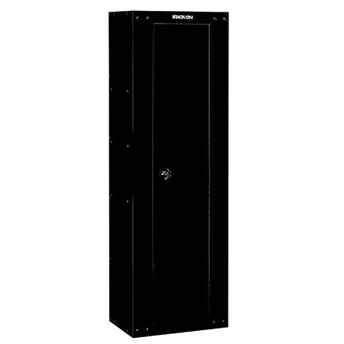 - Stack-On GCB-8RTA Steel 8-Gun Ready to Assemble Security Cabinet, Black