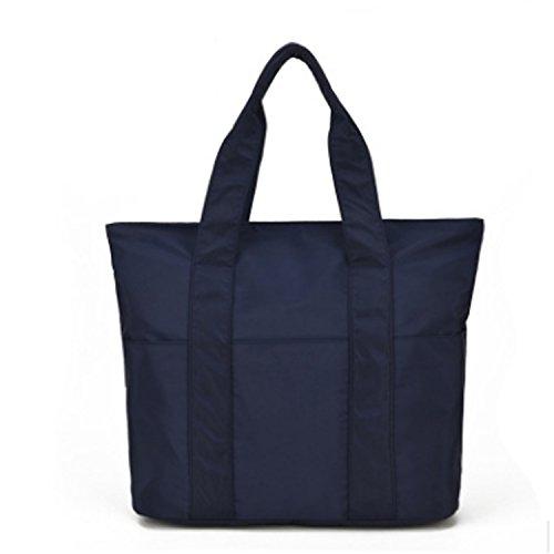 Large Dream3 Handbags Blue Bags Nylon Bags Navy Capacity Women's Tour Cloth Oxford Shoulder Canvas vrxvzq