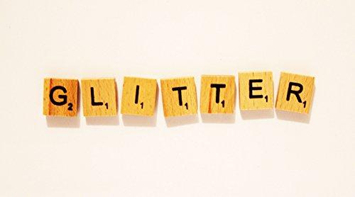 Glitter Wooden Letter Magnet Set