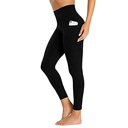 LOVE FANG Women High Waist Yoga Pants Gym Workout Legging with Pockets DailyWear 31k4wsEzhlL