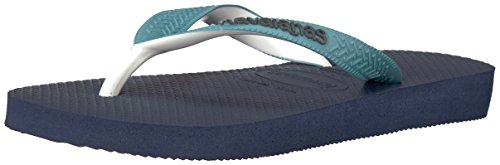 Havaianas Kid's Top Mix Sandal, Navy Blue/Mineral Blue 23/24 BR/Toddler (9 M US) - Image 1