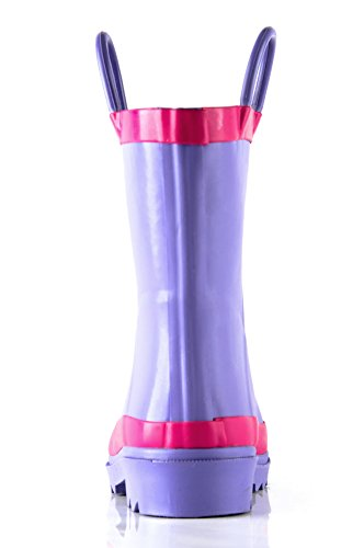 Pictures of Outee Kids Toddler Girls Rain Boots Natural CGLR17APUR11 4