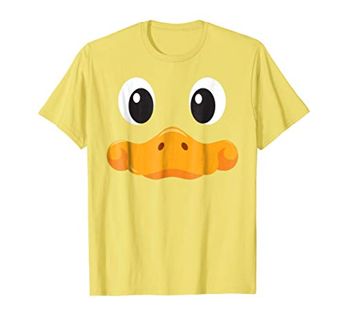 Duck Face T Shirt Cute Halloween Costume Idea Trick or -