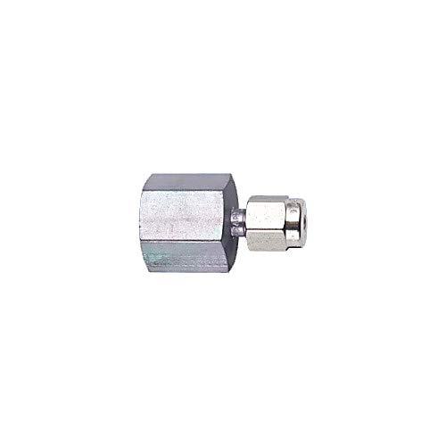 RESTEK 21946 Parker Female Connector, Size 1/8'' x 1/8'' NPT, Stainless Steel (Pack of 2)