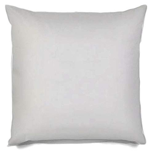 MSD Pillow Insert 30X30 Hypoallergenic Square Form Sham Stuffer Standard White Polyester Decorative Euro Throw Pillow Inserts for Sofa Bed Couch - Made in USA (1 Pack) - Machine Washable and Dry (30 X Pillow 30 Insert)