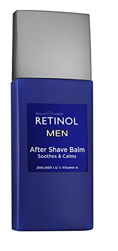 Price comparison product image Retinol Men's After Shave Balm – The Original Retinol Anti-Aging Formula Soothes Razor Burn & Skin Irritation – Dual Action Moisturizer & Calming After Shave Hydrates Face & Reduces Signs of Aging