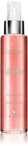 (Alterna Caviar Anti-Aging Omega+ Anti-Frizz Dry Oil Mist, 5 oz (with Sleek Steel Pin Tail Comb))