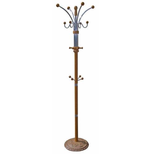 Coat Stand Wood and Metal (OAK)