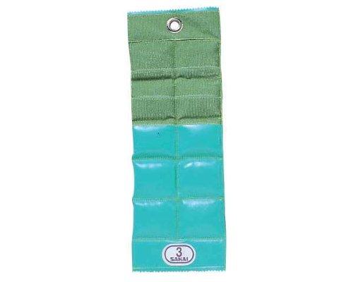 【健康器具、ダンベル】カラー重錘バンド ◆グリーン ■3.0kg [SPR-592H] B00GA09UNW