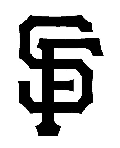 MLB Baseball San Francisco Giants, Orange, 6 Inch, Die Cut Vinyl Decal, For Windows, Cars, Trucks, Toolbox, Laptops, Macbook-virtually Any Hard Smooth Surface (San Francisco Giants Decal)