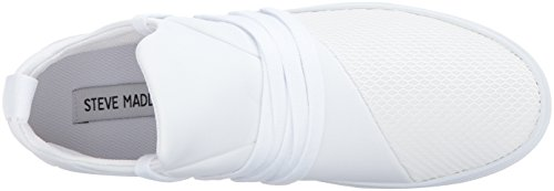 Steve Madden Womens Lancer Fashion Sneaker White
