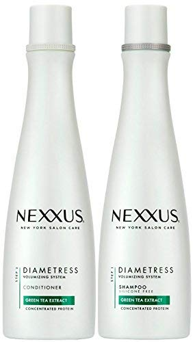 Nexxus Diametress Volumizing Combo Pack, Rebalancing Shampoo + Restoring Conditioner, 13.5 Ounce Each by Nexxus