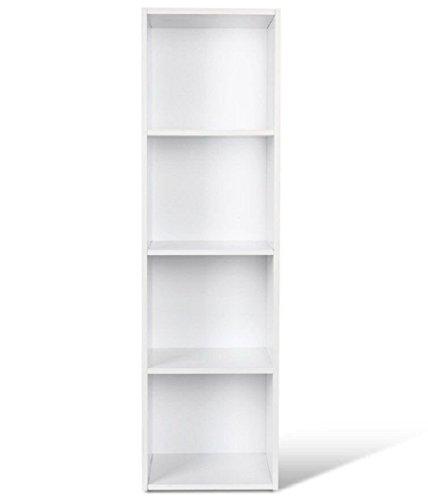 Bureau Etagère De Homfa Armoire Rangement Étagère Salonblanc Pour Livres Bibliothèque wX80PknO