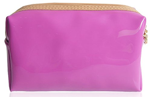 Present Patent Make Glossy Girl Pretty With Stocking Girls Purple Gossip Case Bow Pink Up Evening Ladies Filler Clutch Purse Strap Pencil Ideal qIXptxxU