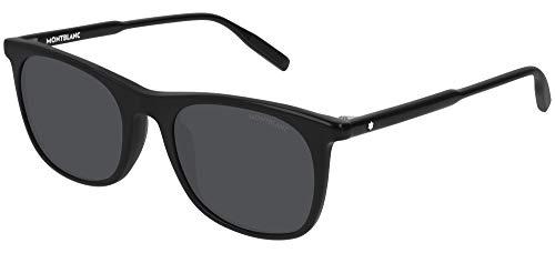 Mont Blanc MB0007S BLACK/GREY 53/21/145 men Sunglasses