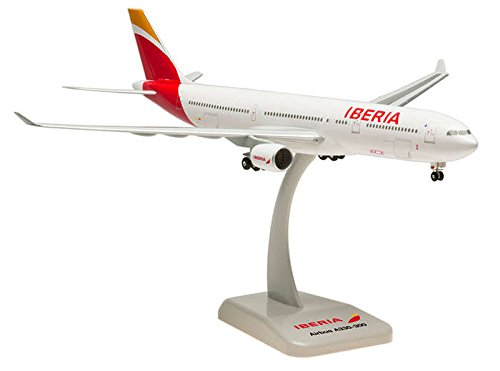 (Hogan Wings 1-200 Commercial Models HG0281G 1-200 Iberia A330-300 New Livery with Gear)