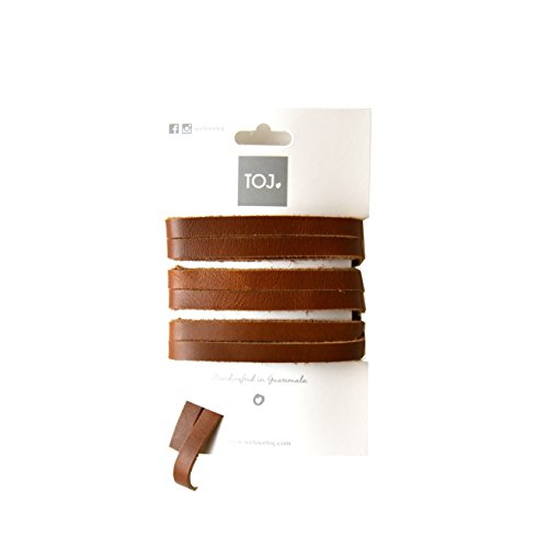 Leather Trim Candy (We Love TOJ TOJ Laces (Caramel Leather))