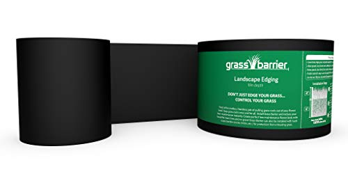 "Grass Barrier - Landscape Edging - 10"" inch depth - (20 feet)"