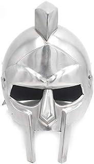 Medieval Warrior Gladiator Steel Functional Arena Helmet Wearable for Adult with Liner
