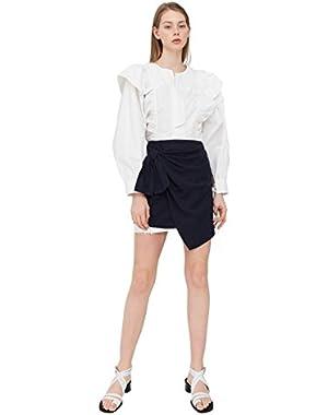Mango Women's Decorative Knot Skirt
