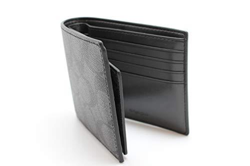Coach Men's PVC Short Wallet (black CQBK)