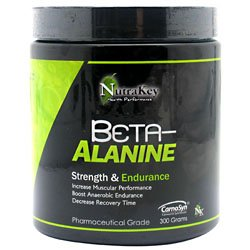Nutrakey Beta-Alanine Unflavored 300 Grams