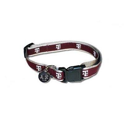 Sporty K9 Texas AandM Dog Collar, Medium/Large, My Pet Supplies
