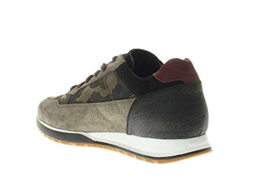 Hogan Uomo Sneaker HXM3210K860ILQ6ED3 Sneaker H 321 Mimetico Comprar Barato Caliente De La Venta Aclaramiento De Compras En Línea Comprar Barato El Más Barato Puerto Este HUo6tkRUDF